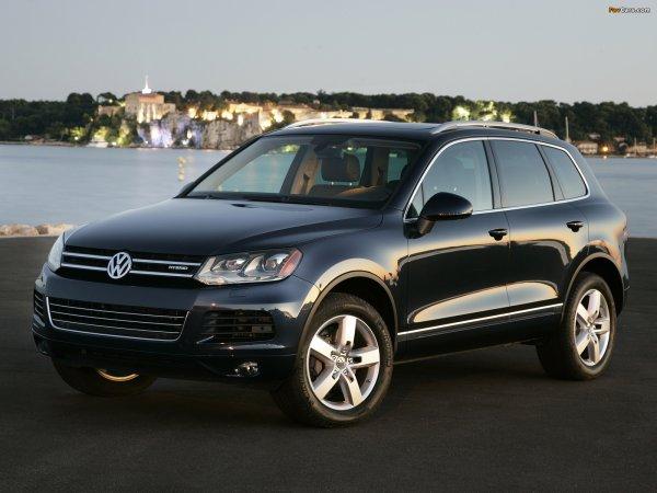 Вот почему у нас не любят гибриды: Какой VW Touareg лучше – дизель или гибрид?