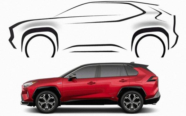 Куда ещё лучше? Японцы выложили первые снимки нового кроссовера, похожего на гибридный Toyota RAV4