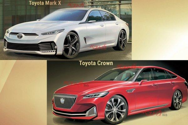 «Тойота», как низко ты готова пасть: Toyota может возобновить Mark X и Crown при участии Mazda — ушла эпоха, пришли менеджеры