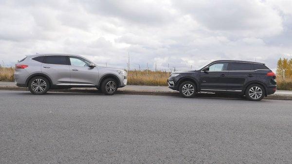 «Через 5 лет только на свалку»: Автолюбители сравнили Geely Atlas и Haval F7
