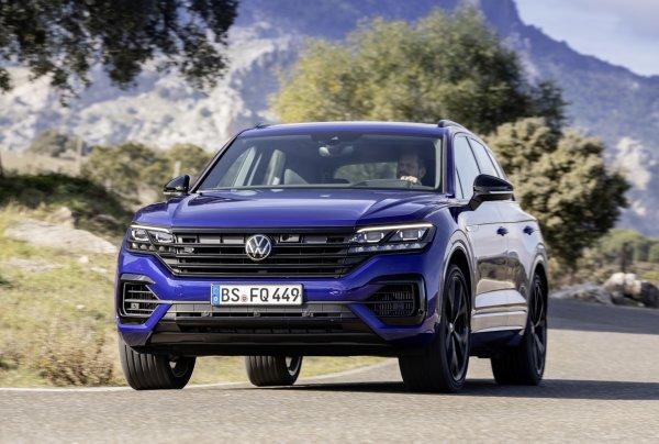 Дешевле и лучше BMW X5: Volkswagen Touareg 2020 получил «заряженную» R-версию