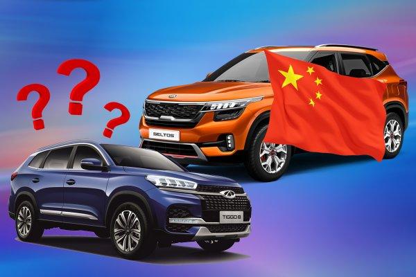 «Селтос» более «китайский», чем «китаец»? KIA Seltos против Chery Tiggo 8 — что предпочтут россияне