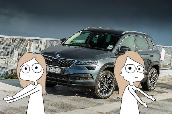 «Либо крестик снимите, либо трусы наденьте»: Автомобилисты определили, что не так с новым Skoda Karoq 2020