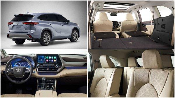 «Беременный» RAV4 с «золотым» ценником: Новый Toyota Highlander для России подвергается жесткой критике