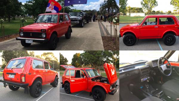 Lamborghini закурили? «Праворукую» австралийскую LADA 4x4 назвали достойной альтернативой «Ламбе»