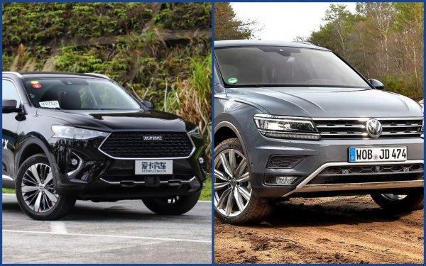 Убогий Volkswagen Tiguan – позор для «ВАГа»: Эксперты нашли замену «немцу» и это Haval F7x