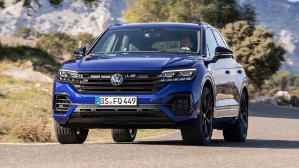 «Заряженный немец» в новой обертке: Чем порадует спецверсия Volkswagen Touareg R 2020