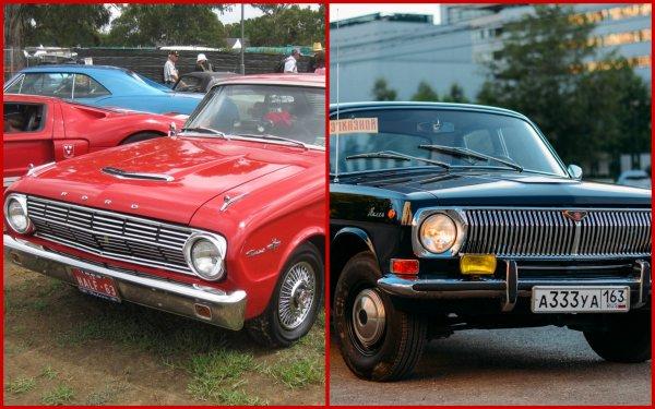 Если ГАЗ-24 «Волга» — это пародия на Ford Falcon, то народ не готов переплачивать за «дедовские» иномарки: «Своего полно!»