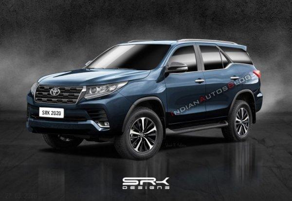 Достойная альтернатива «Крузаку»: Показан обновлённый Toyota Fortuner 2020
