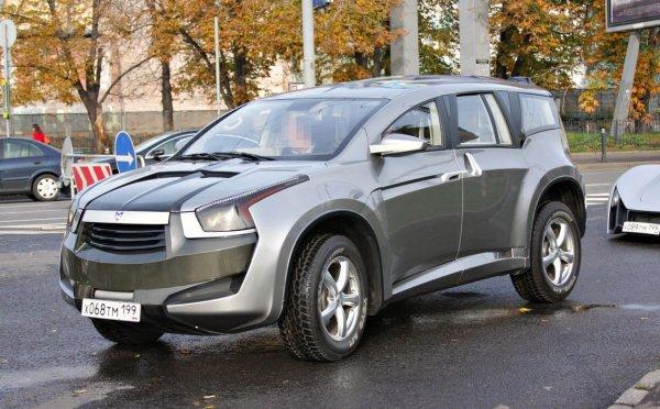 Такой бездарный, но такой красивый: В сети вспомнили о концепт-каре Marussia F2 – самом оригинальном российском SUV