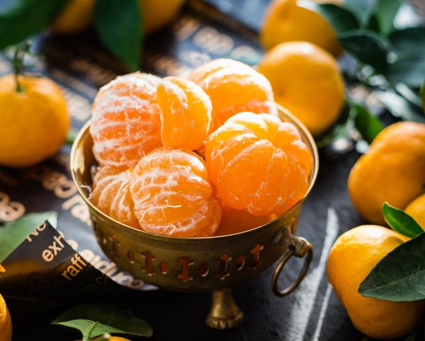 Начинка - мандаринка! Мясной салат с мандаринами для праздничного стола
