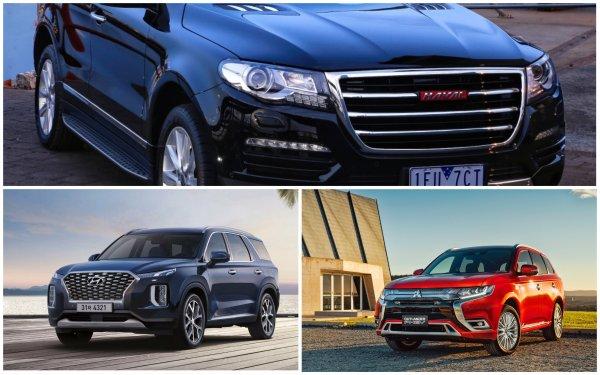 Не успел приехать в РФ, а уже обозвали «уродом»: Эксперты рассказали про особенности Hyundai Palisade 2020, сравнив его с Mitsubishi Outlander и Haval H8