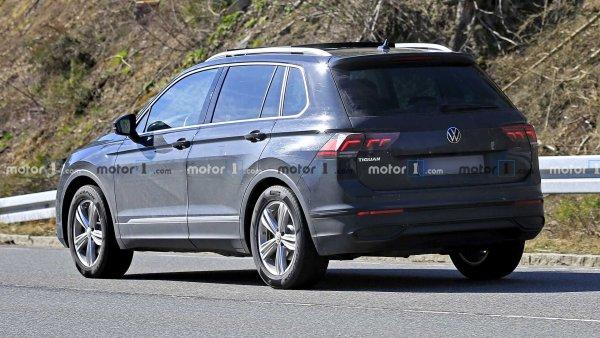 Обновлённый Volkswagen Tiguan 2021: Что показали свежие шпионские фото?