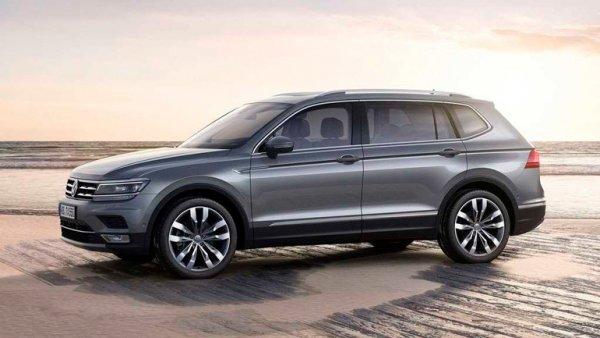 Ох уж эти немцы! В сети всплыли неожиданные подробности о новом Volkswagen Tiguan