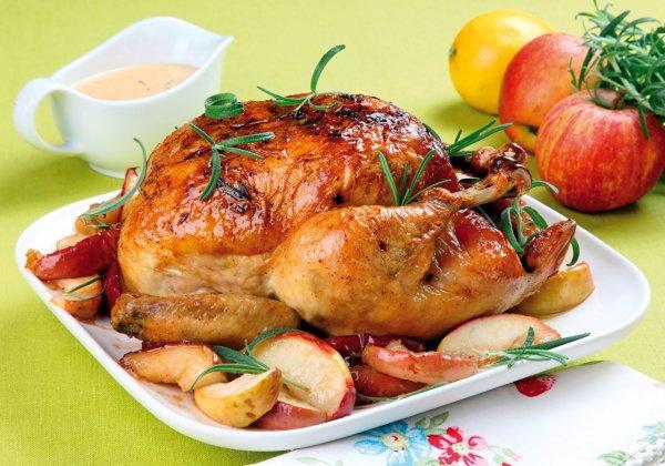 Царское угощение к пасхальному столу – Бесхребетная курица с начинкой