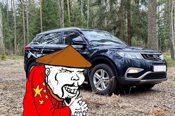 Хорошая попытка, китайцы: Что не так с Geely Atlas с 300-тысячным пробегом — автолюбителей не проведёшь