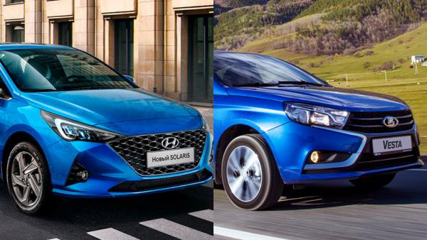 Доплатить или сэкономить: Чем LADA Vesta все еще хуже Hyundai Solaris