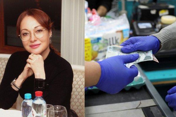 Актрису из «Глухаря» ударили по руке в супермаркете за отсутствие перчаток